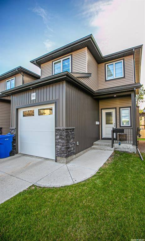 Townhouse for sale at 118 De Marco Pointe Ln Regina Saskatchewan - MLS: SK776886