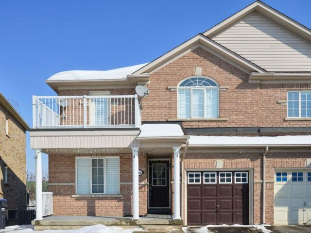 For Sale: 118 Tianalee Crescent, Brampton, ON | 3 Bed, 4 Bath Townhouse for $699,900. See 18 photos!