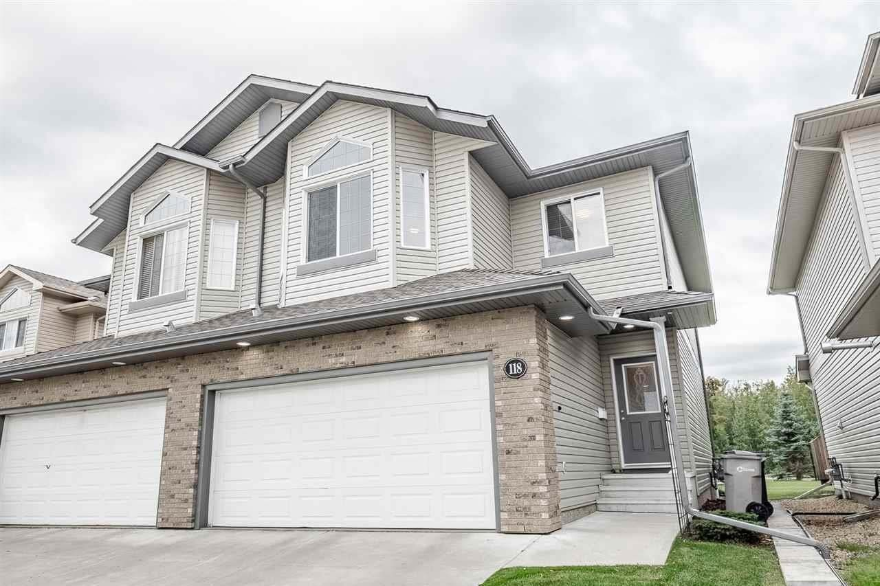 Townhouse for sale at 118 Westerra Bv Stony Plain Alberta - MLS: E4196800