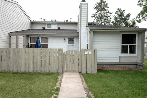 Townhouse for sale at 1180 Knottwood Rd Nw Edmonton Alberta - MLS: E4116105