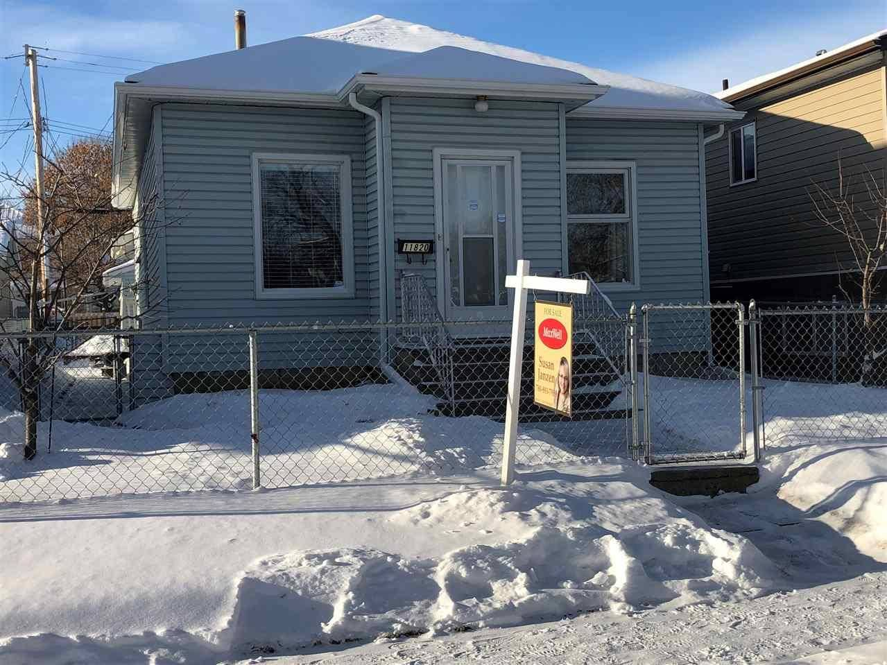 House for sale at 11820 93 St Nw Edmonton Alberta - MLS: E4179526