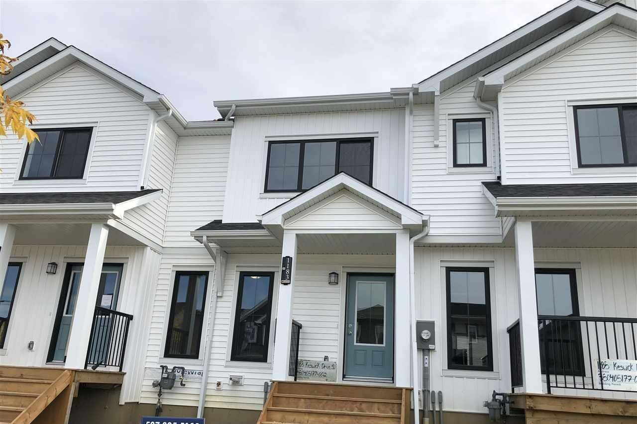 House for sale at 1183 Keswick Dr SW Edmonton Alberta - MLS: E4204554