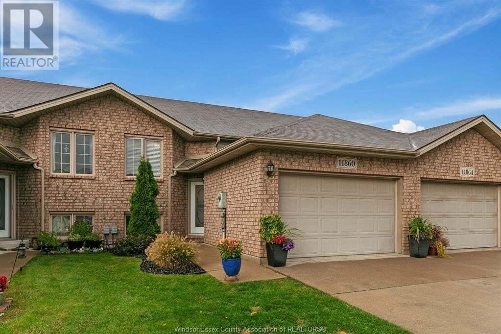 Townhouse for sale at 11860 Boulder  Windsor Ontario - MLS: 20013032