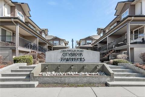 Townhouse for sale at 1355 Findlay Rd Unit 119 Kelowna British Columbia - MLS: 10179950