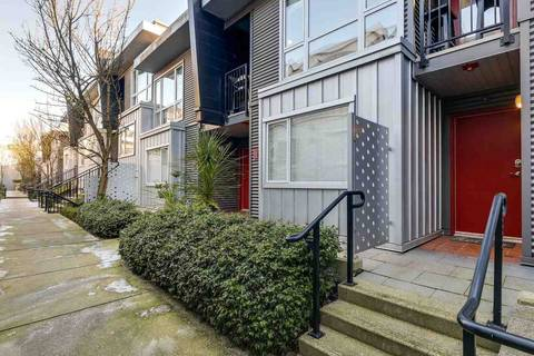 Townhouse for sale at 672 6th Ave W Unit 119 Vancouver British Columbia - MLS: R2339200