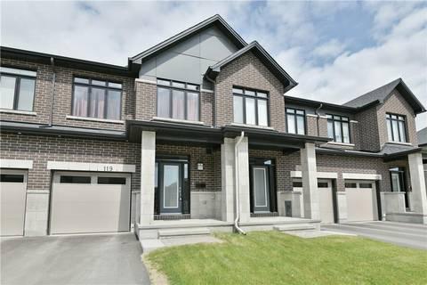 Townhouse for sale at 119 Avro Circ Ottawa Ontario - MLS: 1156307