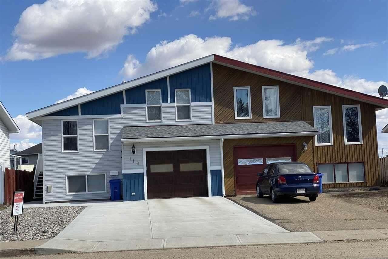 Townhouse for sale at 119 Centennial Dr Wetaskiwin Alberta - MLS: E4183983