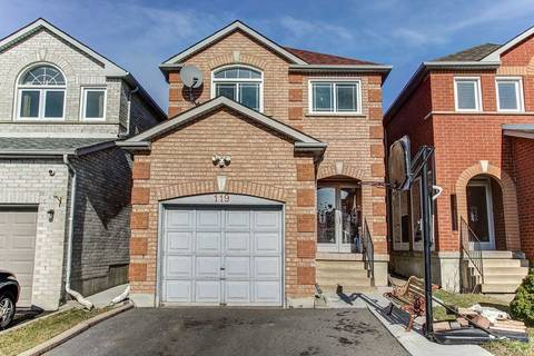 House for sale at 119 Doubtfire Cres Markham Ontario - MLS: N4421982