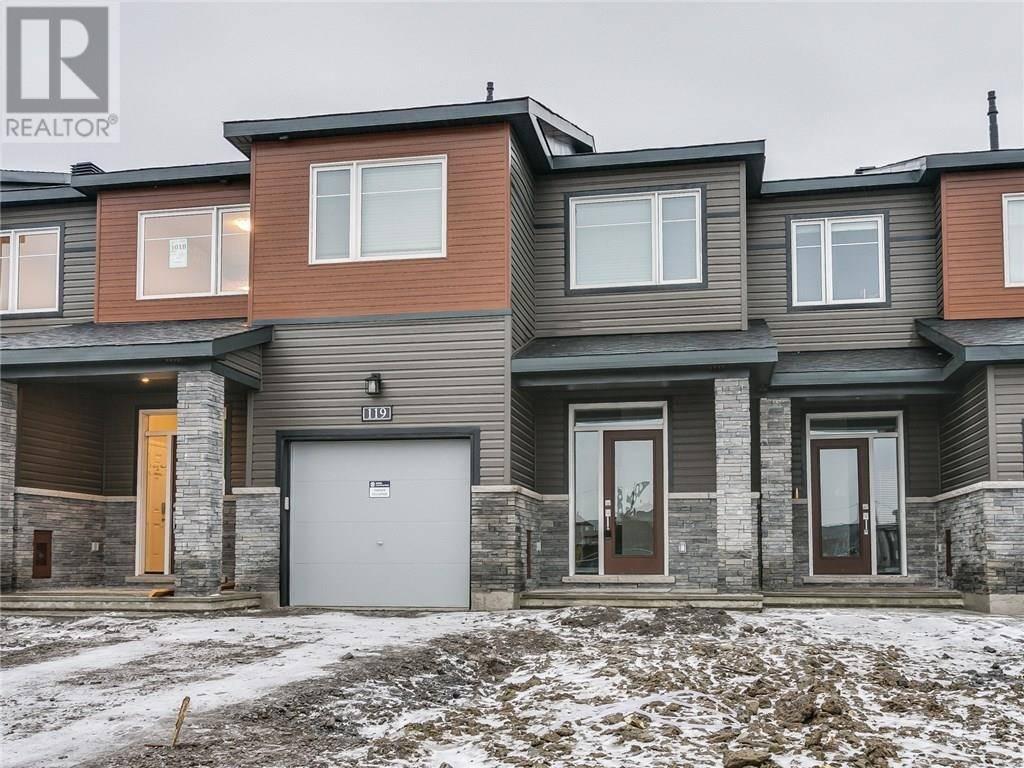 Townhouse for rent at 119 Gardenpost Te Ottawa Ontario - MLS: 1177209