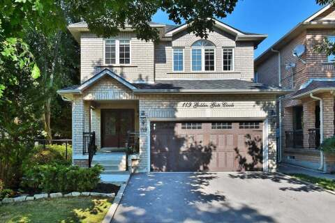 House for sale at 119 Golden Gate Circ Vaughan Ontario - MLS: N4920404