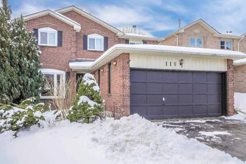 House for sale at 119 Kemano Rd Aurora Ontario - MLS: N4690034