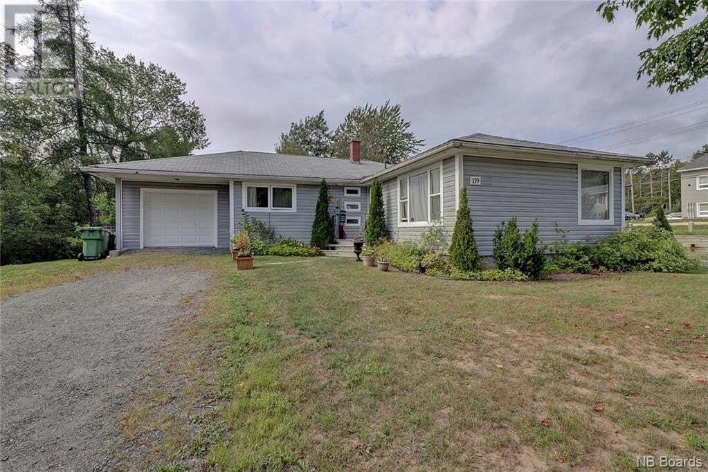 House for sale at 119 Moss Ave Fredericton New Brunswick - MLS: NB047340