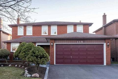 House for sale at 119 Raymerville Dr Markham Ontario - MLS: N4420511