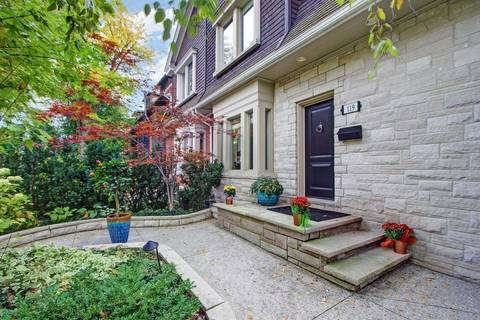 Townhouse for sale at 119 Roxborough St Toronto Ontario - MLS: C4622004