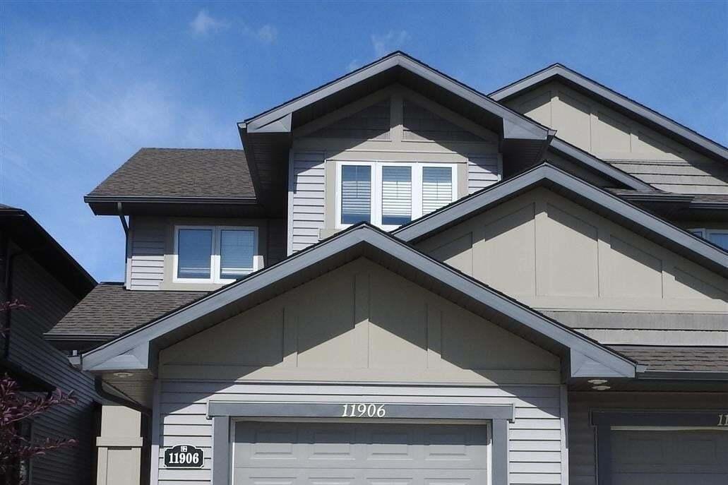 Townhouse for sale at 11906 22 Av SW Edmonton Alberta - MLS: E4185234