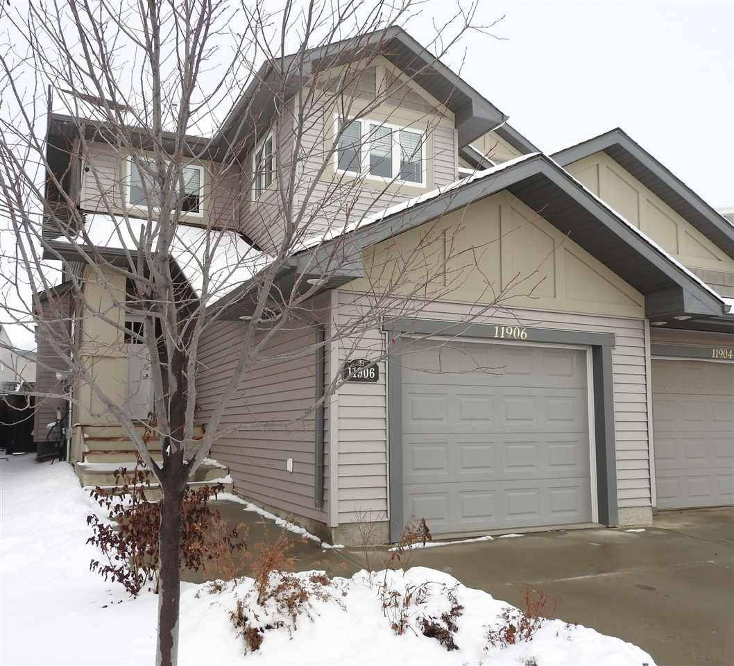 Townhouse for sale at 11906 22 Ave Sw Edmonton Alberta - MLS: E4167230