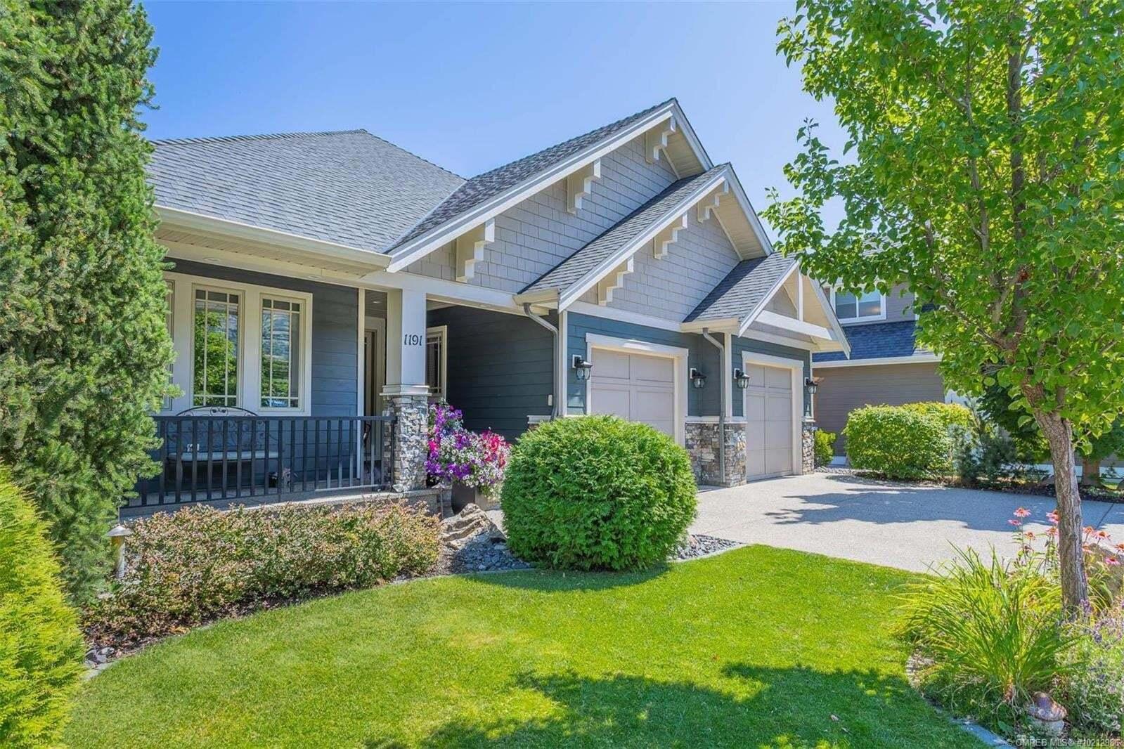 House for sale at 1191 Long Ridge Dr Kelowna British Columbia - MLS: 10212986