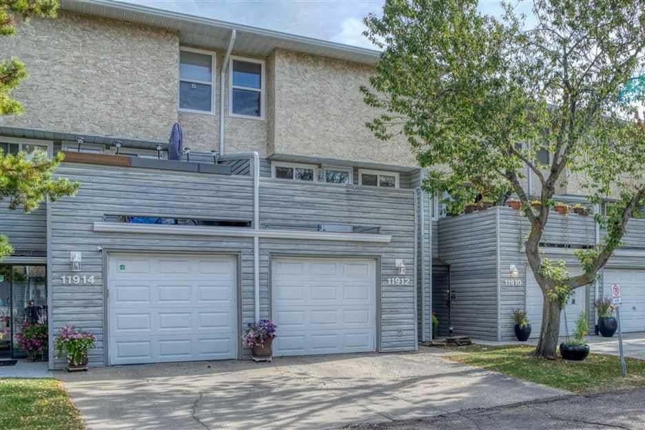 Townhouse for sale at 11912 145 Av NW Edmonton Alberta - MLS: E4215481