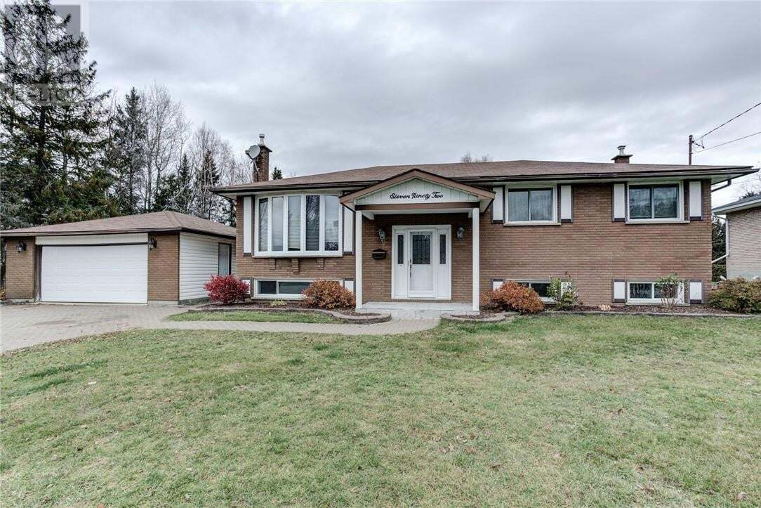 House for sale at 1192 Wilfred St Hanmer Ontario - MLS: 2090113