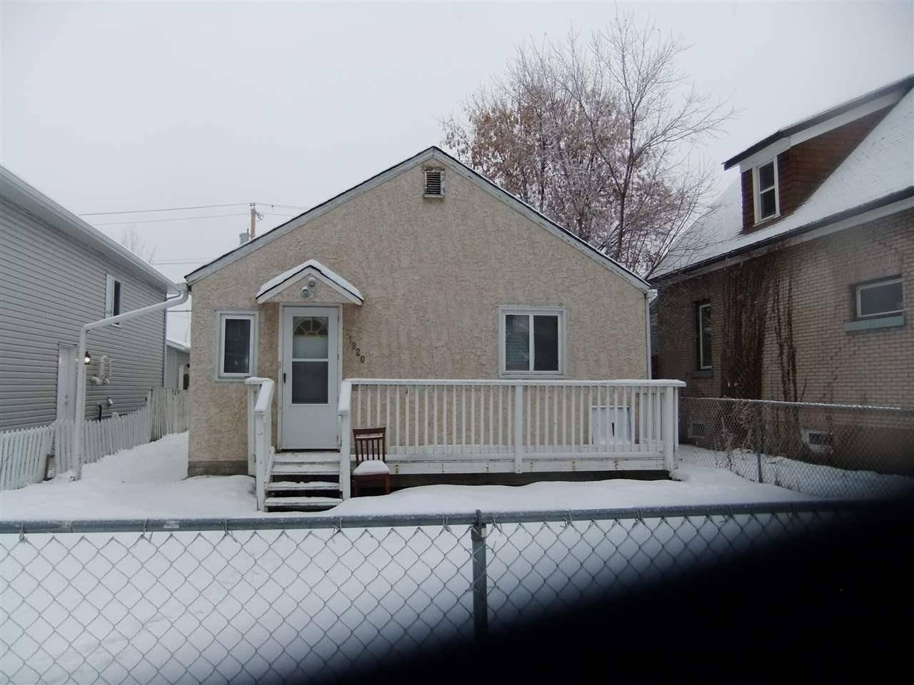 House for sale at 11920 96 St Nw Edmonton Alberta - MLS: E4138876