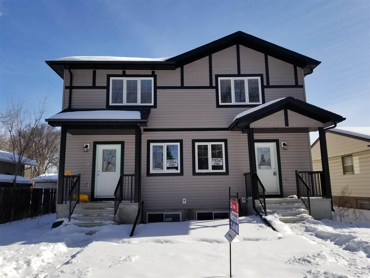 Townhouse for sale at 11933 47 St Nw Edmonton Alberta - MLS: E4185445