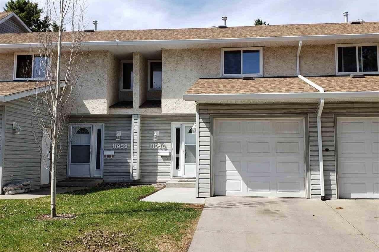 Townhouse for sale at 11950 145 Av NW Edmonton Alberta - MLS: E4185853