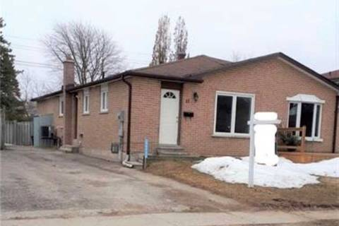 Townhouse for sale at 11 College Cres Barrie Ontario - MLS: S4728659