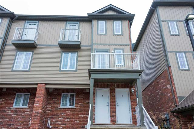 For Sale: 11b - 55 Mooregate Crescent, Kitchener, ON | 2 Bed, 2 Bath Townhouse for $300,000. See 16 photos!