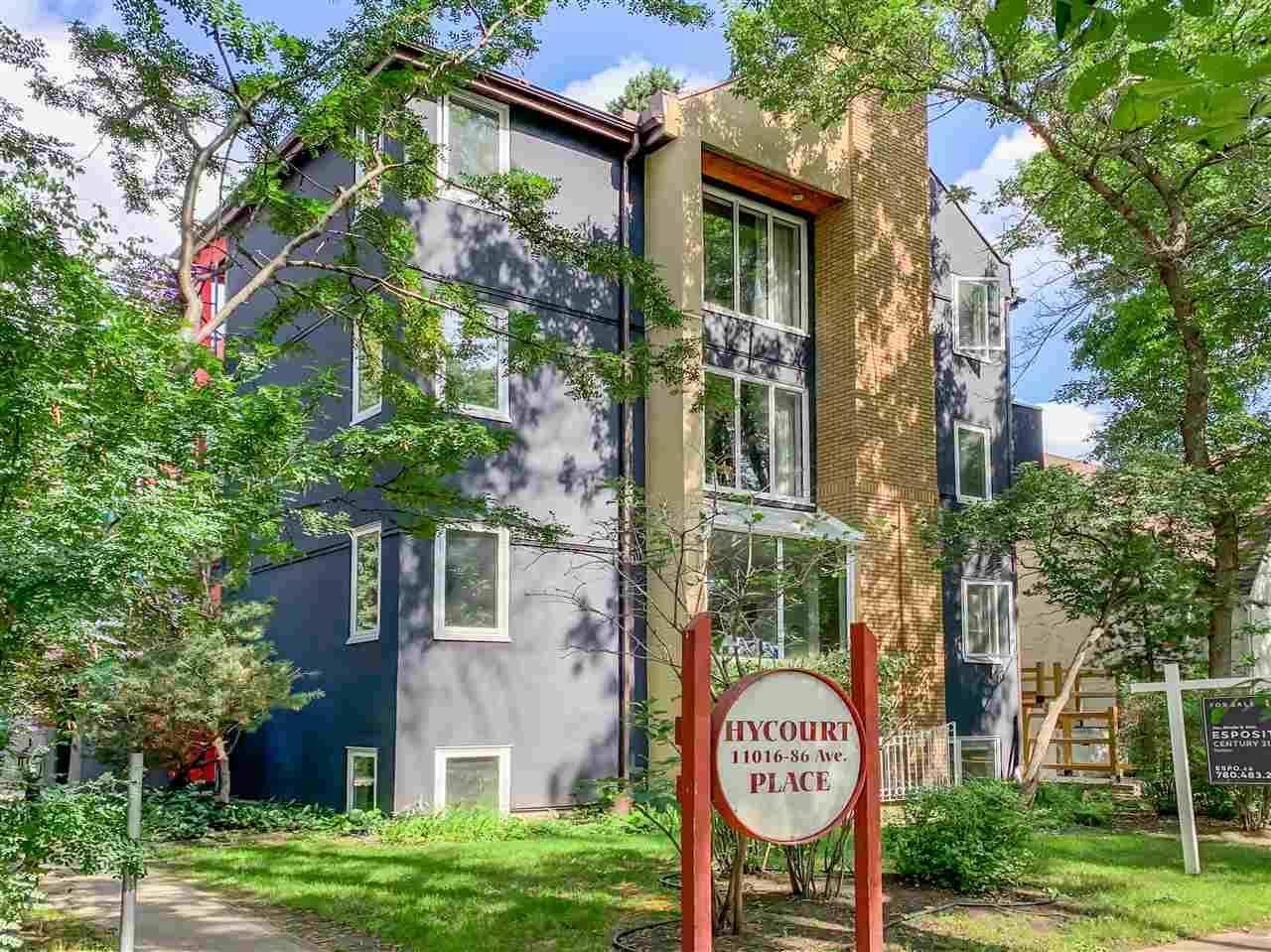Condo for sale at 11016 86 Ave Nw Unit 12 Edmonton Alberta - MLS: E4179875