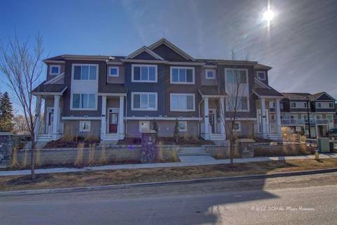 Townhouse for sale at 1391 Starling Dr Nw Unit 12 Edmonton Alberta - MLS: E4140574