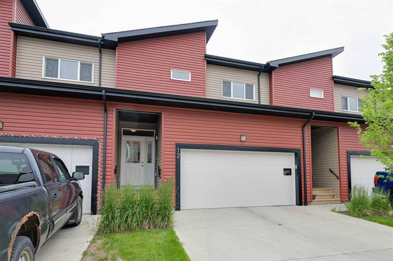 Townhouse for sale at 16537 130a St Nw Unit 12 Edmonton Alberta - MLS: E4165463