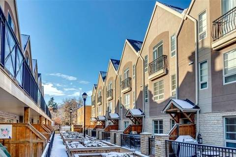 Townhouse for sale at 1729 34 Ave Southwest Unit 12 Calgary Alberta - MLS: C4288118