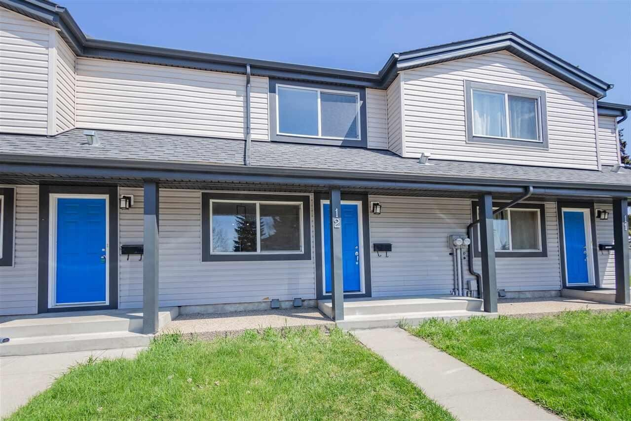 Townhouse for sale at 18010 98 Av NW Unit 12 Edmonton Alberta - MLS: E4197562