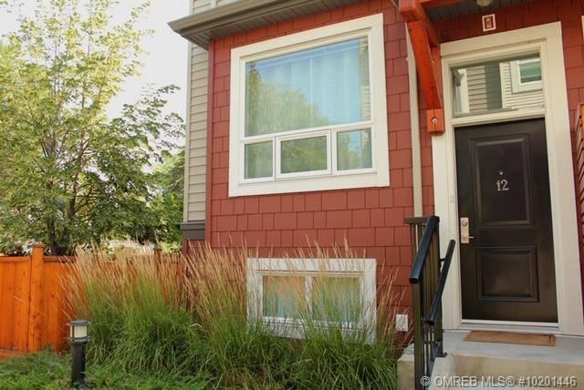 Townhouse for sale at 1841 Ambrosi Rd Unit 12 Kelowna British Columbia - MLS: 10201446