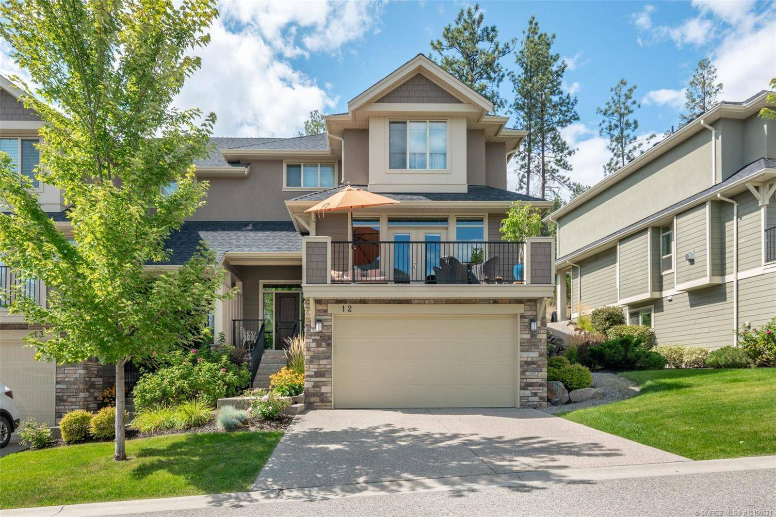 Townhouse for sale at 1865 Begbie Rd Unit 12 Kelowna British Columbia - MLS: 10190621
