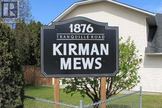 Townhouse for sale at 1876 Tranquille Road  Unit 12 Kamloops British Columbia - MLS: 157284
