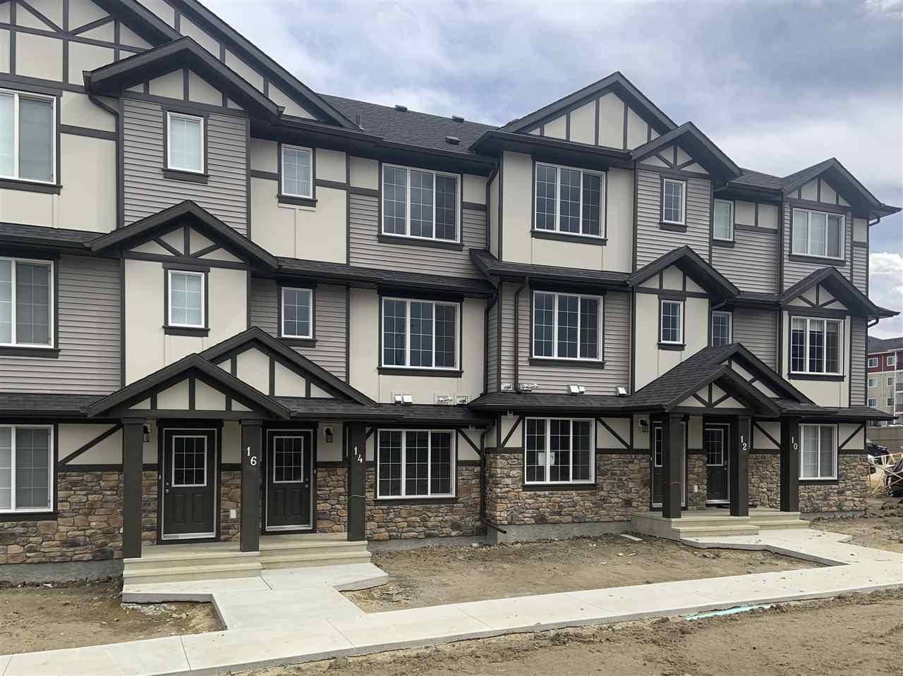 Townhouse for sale at 20 Augustine Cres Unit 12 Sherwood Park Alberta - MLS: E4193545