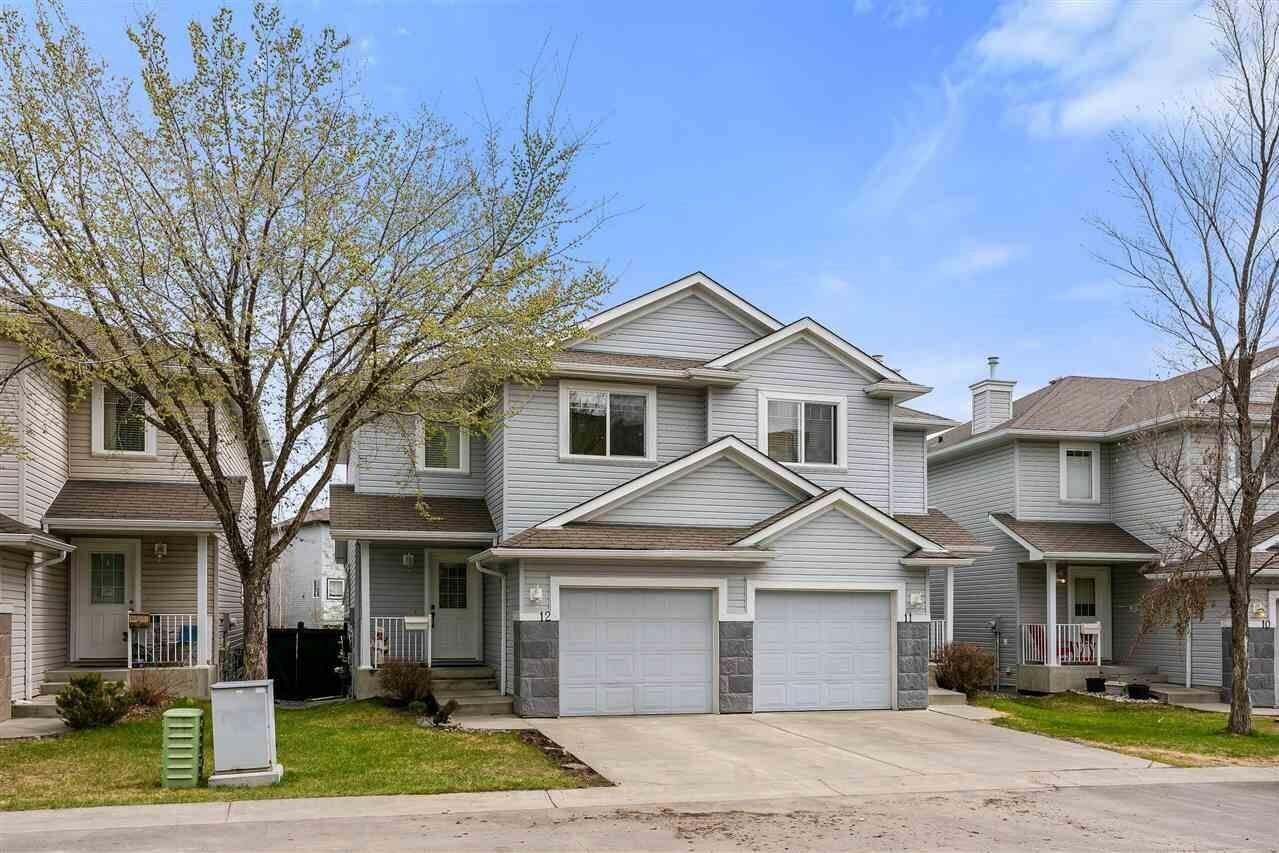 Townhouse for sale at 2021 Grantham Co NW Unit 12 Edmonton Alberta - MLS: E4197447