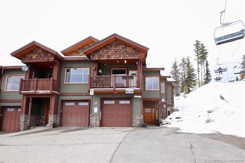 Townhouse for sale at 218 Kettle View Rd Unit 12 Big White British Columbia - MLS: 10180278