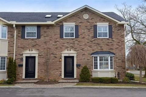 Townhouse for sale at 2407 Woodward Ave Unit 12 Burlington Ontario - MLS: H4050291