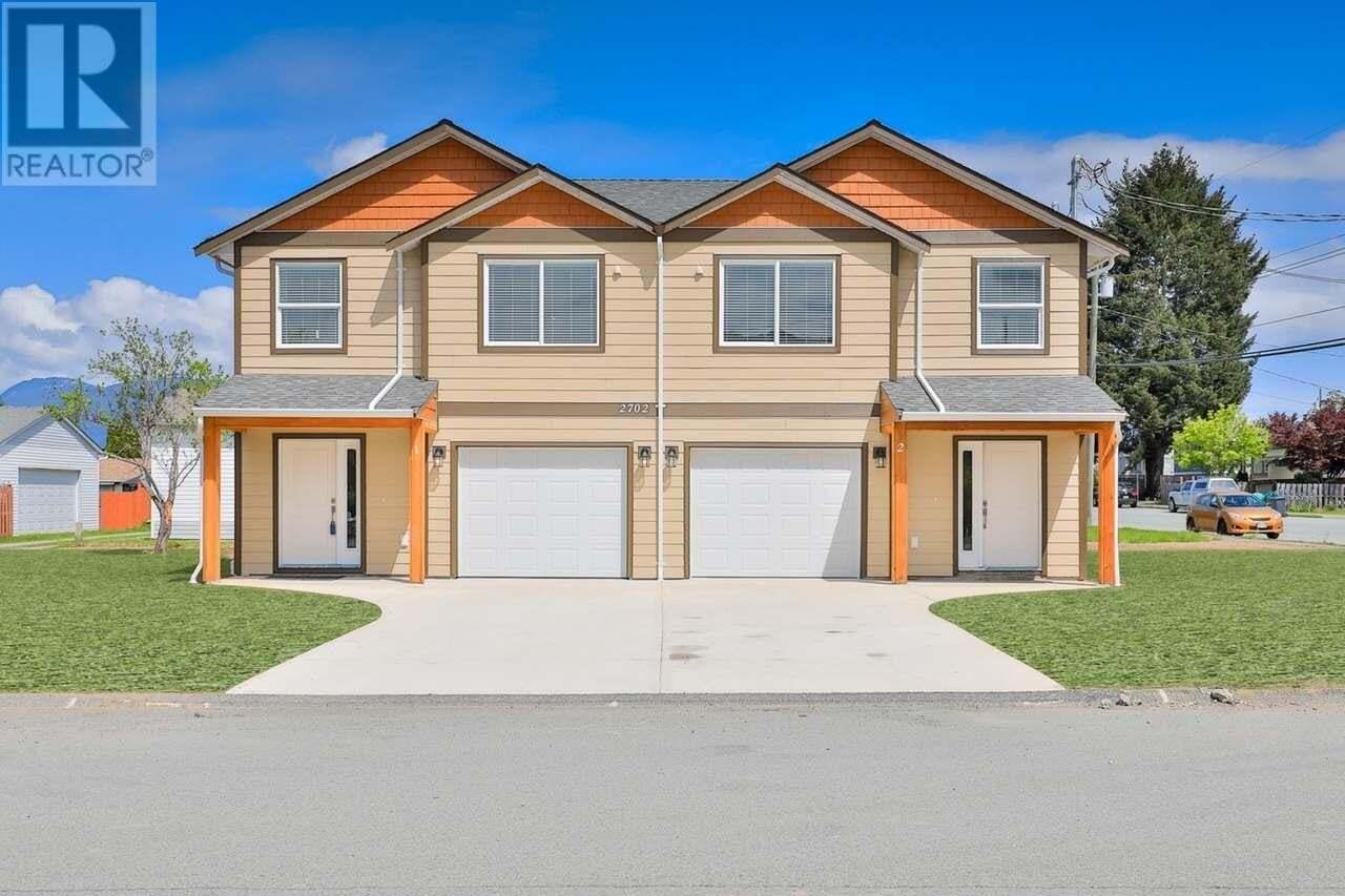 Townhouse for sale at 2702 Anderson  Unit 1&2 Port Alberni British Columbia - MLS: 835866