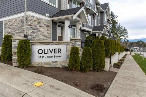 Townhouse for sale at 2855 158 St Unit 12 Surrey British Columbia - MLS: R2422610