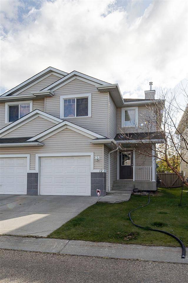 Townhouse for sale at 287 Macewan Rd Sw Unit 12 Edmonton Alberta - MLS: E4185159