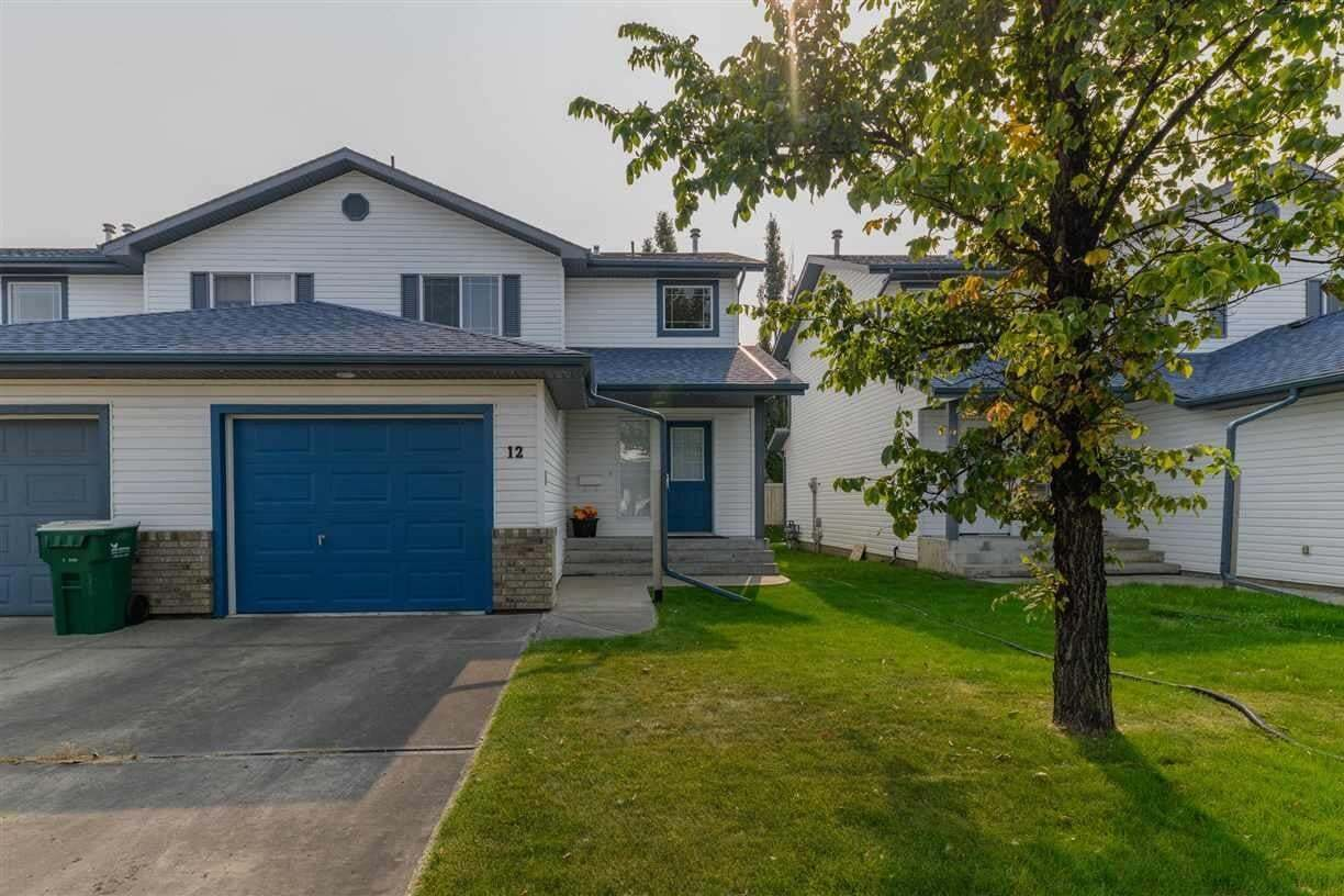 Townhouse for sale at 3 Grove Meadow Dr Unit 12 Spruce Grove Alberta - MLS: E4215006