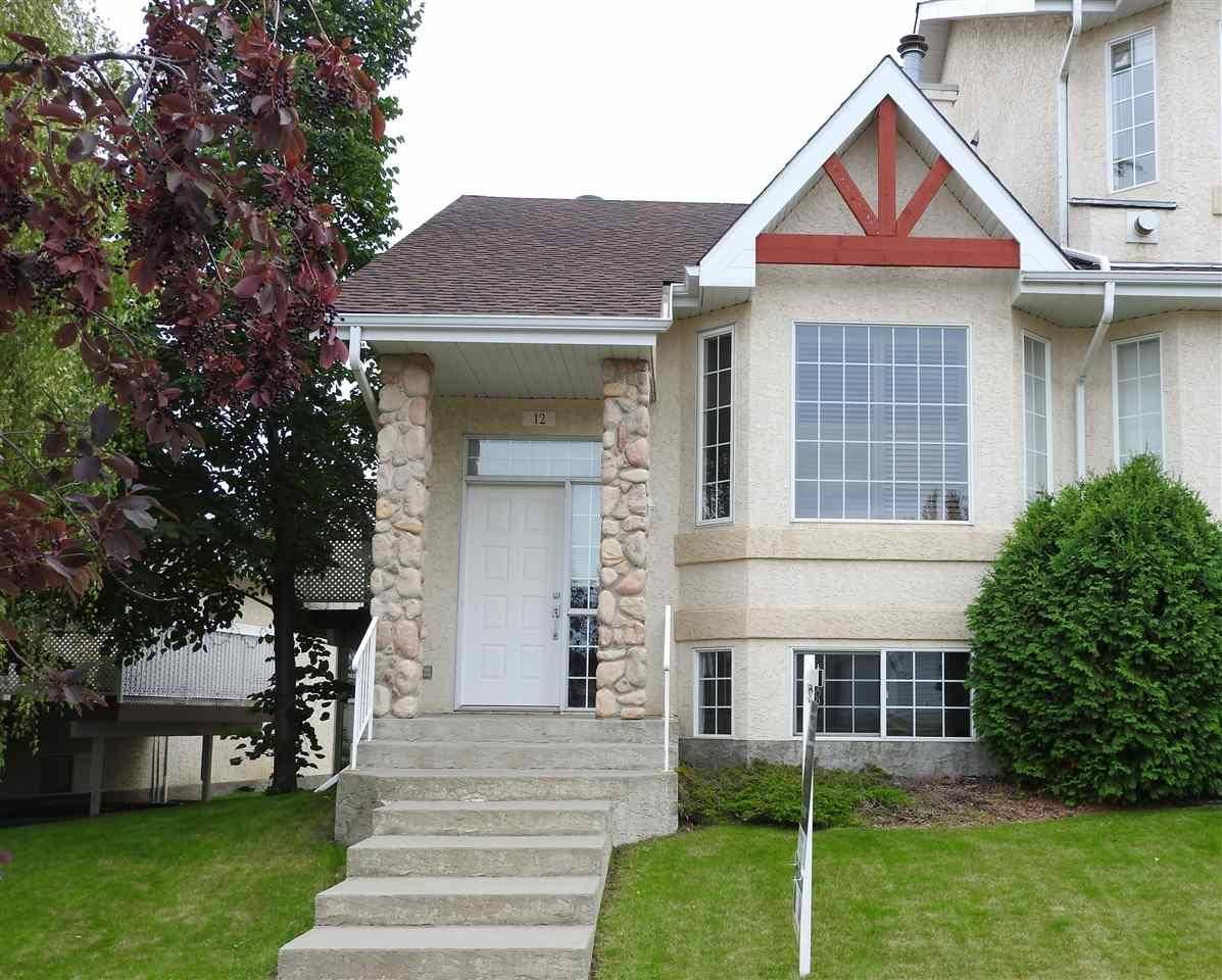 Townhouse for sale at 303 Leger Wy Nw Unit 12 Edmonton Alberta - MLS: E4189236