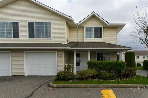 Townhouse for sale at 31255 Upper Maclure Rd Unit 12 Abbotsford British Columbia - MLS: R2382609