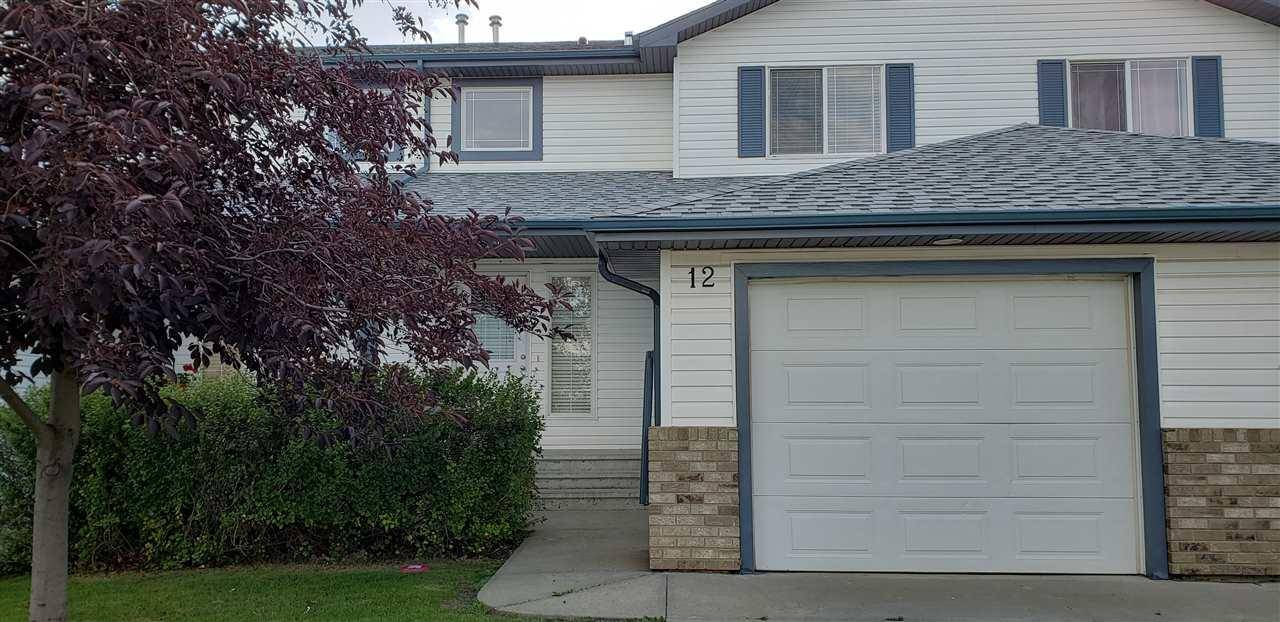 Townhouse for sale at 450 Hyndman Cres Nw Unit 12 Edmonton Alberta - MLS: E4172456
