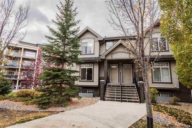 Townhouse for sale at 4755 Terwillegar Common Nw Unit 12 Edmonton Alberta - MLS: E4182732