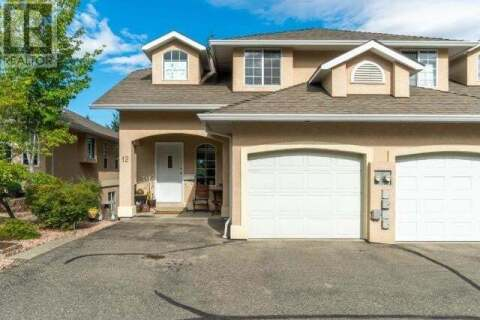 Townhouse for sale at  Monarch Ct Unit 12 Kamloops British Columbia - MLS: 158329