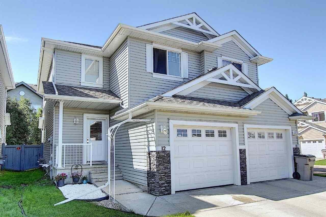 Townhouse for sale at 5101 Soleil Bv Unit 12 Beaumont Alberta - MLS: E4207859